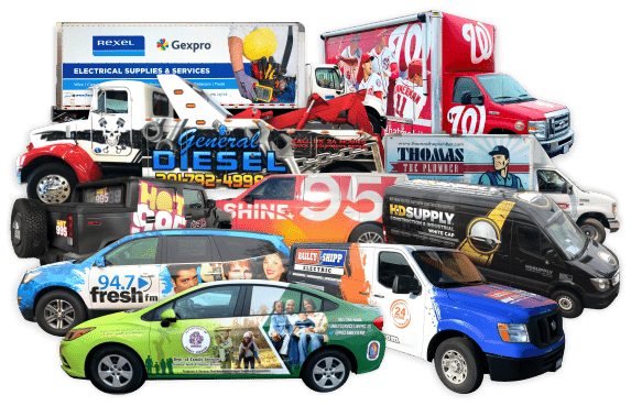 All Kinds of Vehicle Wraps