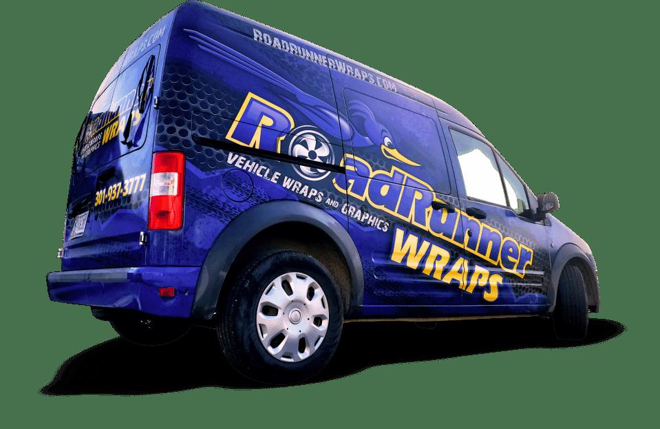 Roadrunner Wraps Ford Transit