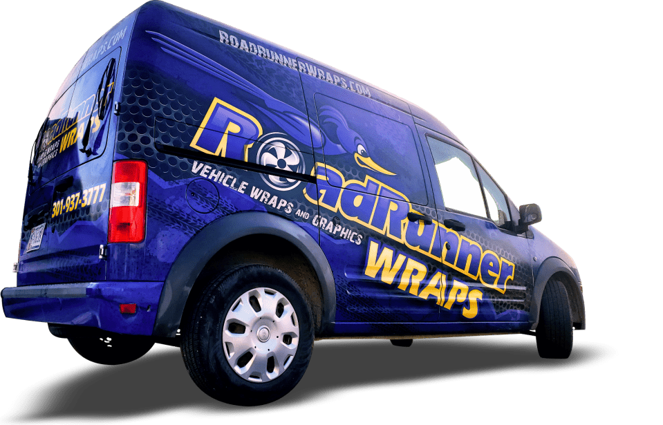Roadrunner Wraps Ford Transit